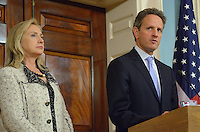 Clinton and Geithner on Iran Policy