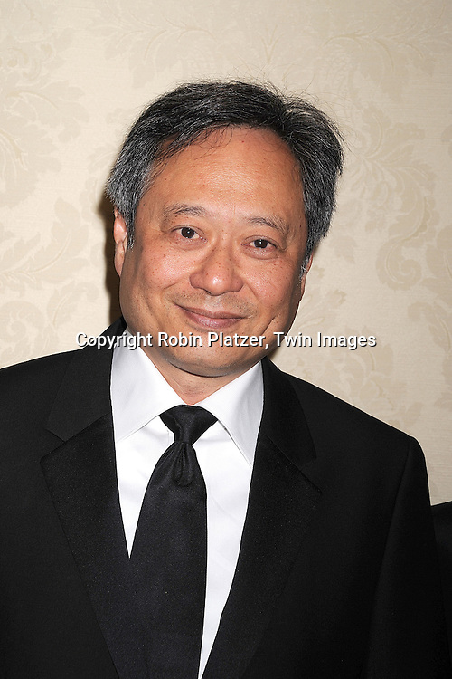 Ang Lee..posing for photographers at The Museum of The Moving Image ...