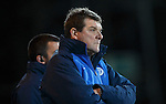 St Johnstone v Hearts..19.12.15  SPFL  McDiarmid Park, Perth<br /> Tommy Wright watches the game end in a draw<br /> Picture by Graeme Hart.<br /> Copyright Perthshire Picture Agency<br /> Tel: 01738 623350  Mobile: 07990 594431