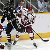Jake Walman (PC - 19), Ryan Donato (Harvard - 16) - The Harvard University Crimson defeated the Providence College Friars 3-0 in their NCAA East regional semi-final on Friday, March 24, 2017, at Dunkin' Donuts Center in Providence, Rhode Island.