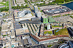 Nederland, Flevoland, Almere, 07-05-2015;  Stadshart Amere met Citymall<br /> Almere.<br /> City entre of the new town Almere.<br /> luchtfoto (toeslag op standard tarieven);<br /> aerial photo (additional fee required);<br /> copyright foto/photo Siebe Swart