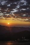 Sunrise on Mount Evans, Colorado