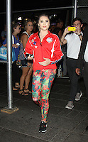 NEW YORK, NY-August 11: McKayla Maroney Olymic Gold winner at Good Morning America go for GMA Games Gold in New York. NY August 11, 2016. Credit:RW/MediaPunch