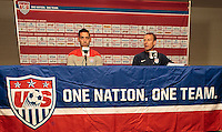 USMNT Press Conference, Tuesday, April 1, 2014