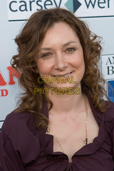 18 July 2005 - Hollywood, California - Sara Gilbert.  Join the Original Cast of 'Roseanne' to Celebrate the Launch of 'Roseanne Season One' on DVD held at the Lucky Stripe Bowling Center at the Hollywood/Highland Complex.  Photo Credit: Zach Lipp/AdMedia