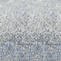 Name: Mist 1.5 cm - hand chopped tumbled mosaic<br /> Style: Metamorphosis<br /> Product Number: NRFMIST1.5<br /> Description: 24&quot;x 24&quot; Mist 1.5 cm hand chopped in Calacata Tia, Celeste, Kay's Green, Blue Macauba (hct)
