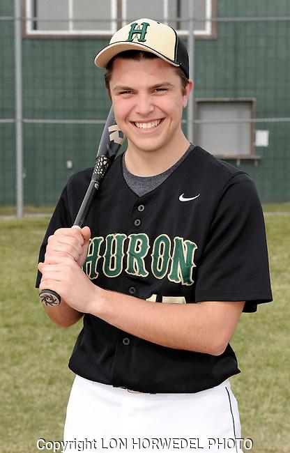 Huron High School varsity baseball team.
