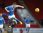 St Johnstone v Aberdeen...06.02.16   SPFL   McDiarmid Park, Perth<br /> Steven MacLean<br /> Picture by Graeme Hart.<br /> Copyright Perthshire Picture Agency<br /> Tel: 01738 623350  Mobile: 07990 594431