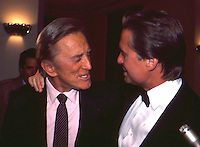 Kirk Douglas &amp; Michael Douglas<br /> By Jonathan Green