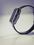 Apple Watch series 2 stylish smartwatch side view artistic product still life