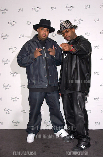 RUN DMC at the 28th Annual American Music Awards in Los Angeles..08JAN2001.  © Paul Smith/Featureflash