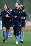 22 April 2008: Kate Markgraf. The United States Women's National Team held a training session on Field 3 at WakeMed Soccer Park in Cary, NC.