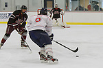 Liberty DII Hockey wins 6-2, during Family Weekend on November 3, 2013. (Photo by Lizzy Benson)