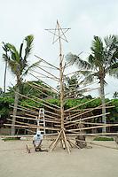 christmas tree, Balinese style.<br /> Sanur, Bali