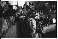 Colombie, l'Arm&eacute;nie, l'ar&egrave;ne de coqs de combat<br /> <br /> Colombia, Armenia, arena for fighting cocks