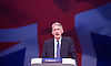 Conservative Party Conference<br /> Manchester, Great Britain <br /> 4th October 2015 <br /> Day 1<br /> <br /> The Rt Hon Philip Hammond MP<br /> Foreign Secretary <br /> <br /> <br /> <br /> <br /> Photograph by Elliott Franks <br /> Image licensed to Elliott Franks Photography Services
