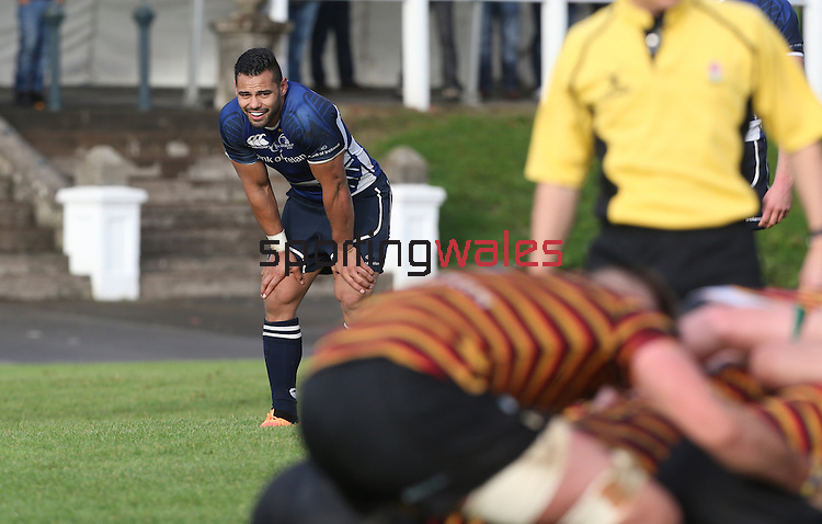Leinster centre Ben Te'o.<br /> British &amp; Irish Cup<br /> Carmarthen Quins v Leinster A<br /> Carmarthen Park<br /> 25.10.14<br /> &copy;Steve Pope-SPORTINGWALES