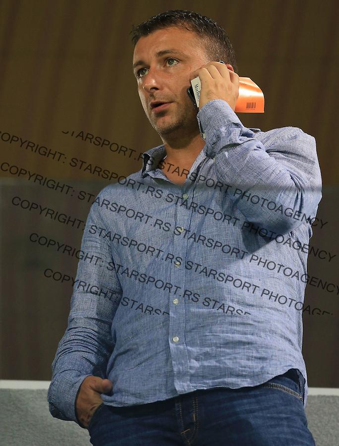Fudbal Football Soccer<br /> UEFA Europa league-Second qualifying round, First leg<br /> Cukaricki v Grodig Austria<br /> Vladimir Matijasevic<br /> Beograd, 07.17.2014.<br /> foto: Srdjan Stevanovic/Starsportphoto &copy;