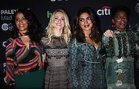 NEW YORK, NY-October 17:Yasmine al Massri, Johanna Braddy,Priyanka Chopra, Aunjanue Ellis,  at PaleyFest New York presents Quantico at the Paley Center for Media in New York.October 17, 2016. Credit:RW/MediaPunch