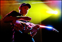 Jake Cinninger plays with Umphrey's McGee at Higher Ground in South Burlington, Vermont.