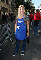 Los Angeles, CA - NOVEMBER 23: Jennifer Åkerman, At Los Angeles Mission Thanksgiving Meal For The Homeless At Los Angeles Mission, California on November 23, 2016. Credit: Faye Sadou/MediaPunch