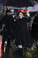 NEW YORK, NY March 10, 2017:Emma Watson at Good Morning America  to talk about her new movie Beauty & the Beast in New York . March 10, 2017. Credit:RW/MediaPunch