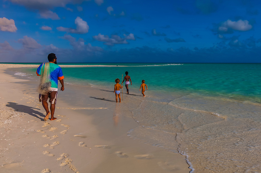 Beach, Mouli, Island of Ouvea, Loyalty Islands, New Caledonia