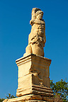 Statue in the ancient Agora of Athens, Greece