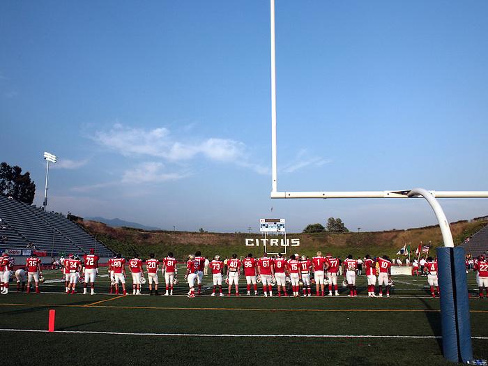 24 June 2006: Shrine All Star Football Game Private vs Public School at Citrus College in Glendora Ca.