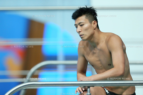 Ken Terauchi (JPN), JULY 30, 2015 - Diving : 16th FINA World Championships Kazan 2015 Men's 3m Springboard Preliminary at Aquatics Palace in Kazan, Russia. (Photo by Yohei Osada/AFLO SPORT)
