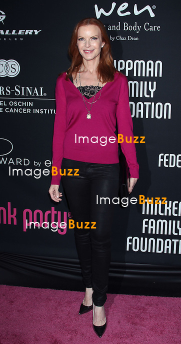 Marcia Cross, The 8th annual Pink Party, to benefit Cedars-Sinai Women's Cancer Program, Hanger 8 at Santa Monica Airport in (Santa Monica, CA.). Los Angeles, October 27, 2012.