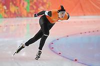 OLYMPICS: SOCHI: Adler Arena, 19-02-2014, 5000m, Yvonne Nauta, ©photo Martin de Jong