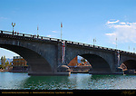 1831 London Bridge reconstruction, Bridgewater Channel Canal, Lake Havasu, Arizona