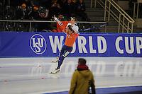 SPEEDSKATING: BERLIN: Sportforum Berlin, 27-01-2017, ISU World Cup, Kjeld Nuis (NED), ©photo Martin de Jong