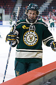 H.T. Lenz (Vermont - 11) - The visiting University of Vermont Catamounts tied the Boston University Terriers 3-3 in the opening game of their weekend series at Agganis Arena in Boston, Massachusetts, on Friday, February 25, 2011.