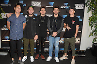 Los 5 at Westwood One Backstage at the American Music Awards at the L.A. Live Event Deck in Los Angeles, CA on November 18, 2016. Credit: David Edwards/MediaPunch
