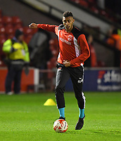 Fleetwood Town's Alex Reid warms up<br /> <br /> Photographer Dave Howarth/CameraSport<br /> <br /> The EFL Sky Bet League One - Walsall v Fleetwood Town - Tuesday 14th March 2017 - Banks's Stadium - Walsall<br /> <br /> World Copyright &copy; 2017 CameraSport. All rights reserved. 43 Linden Ave. Countesthorpe. Leicester. England. LE8 5PG - Tel: +44 (0) 116 277 4147 - admin@camerasport.com - www.camerasport.com