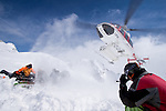 CMH - Steep Camp 2009 - Ski extrème en couloir - Full tilt - 3000 m - Long 1500 m - Face ouest - Mont Chamberlain - 45° - CMH - Colombie Britanique, Canada, Amérique du Nord, North America