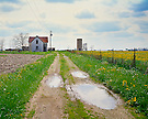 Abandoned farmhouse, OH