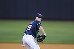 Ole Miss' Matt Tracy (29) pitches against Western Kentucky at Oxford-University Stadium in Oxford, Miss. on Wednesday, March 9, 2010.