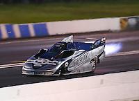 Jun 10, 2016; Englishtown, NJ, USA; NHRA jet funny car driver Ken Hall during qualifying for the Summernationals at Old Bridge Township Raceway Park. Mandatory Credit: Mark J. Rebilas-USA TODAY Sports