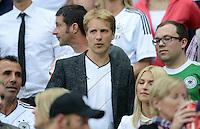 FUSSBALL  EUROPAMEISTERSCHAFT 2012   HALBFINALE Deutschland - Italien              28.06.2012 Oliver Pocher zu Gast auf der Tribuene