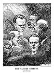 The Cabinet Cherubs. (After Reynolds.)