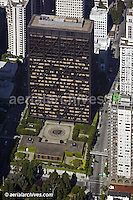aerial photograph One Maritime Plaza office tower San Francisco California