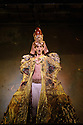 """EMBARGOED UNTIL FRIDAY 4th MARCH 2016, 7:30pm:  London, UK. 02.03.2016. English National Opera presents """"Akhnaten"""", composed by Philip Glass, and directed by Phelim McDermott. Picture shows: Anthony Roth Costanza (Akhnaten). Photograph © Jane Hobson."""