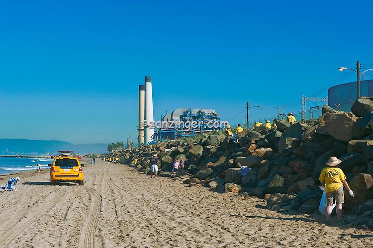 El porto beach clean up manhattan beach california for Clean beaches in california