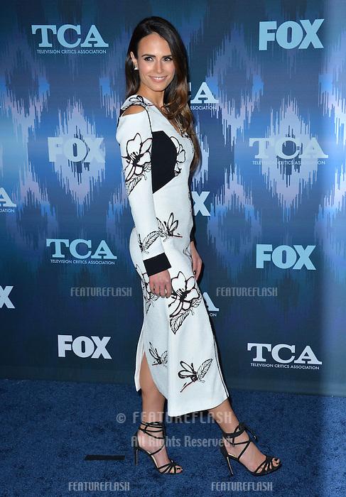 Jordana Brewster at the Fox Winter TCA 2017 All-Star Party at the Langham Huntington Hotel, Pasadena, USA 11th January  2017<br /> Picture: Paul Smith/Featureflash/SilverHub 0208 004 5359 sales@silverhubmedia.com