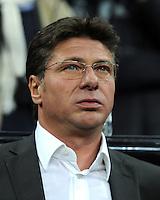 FUSSBALL   CHAMPIONS LEAGUE   SAISON 2011/2012     02.11.2011 FC Bayern Muenchen - SSC Neapel Trainer Walter Mazzarri (SSC Neapel)
