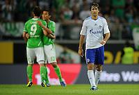 FUSSBALL   1. BUNDESLIGA   SAISON 2011/2012    5. SPIELTAG VfL Wolfsburg - FC Schalke 04                                  11.09.2011 RAUL (Schalke) ist nach dem Abpfiff enttaeuscht