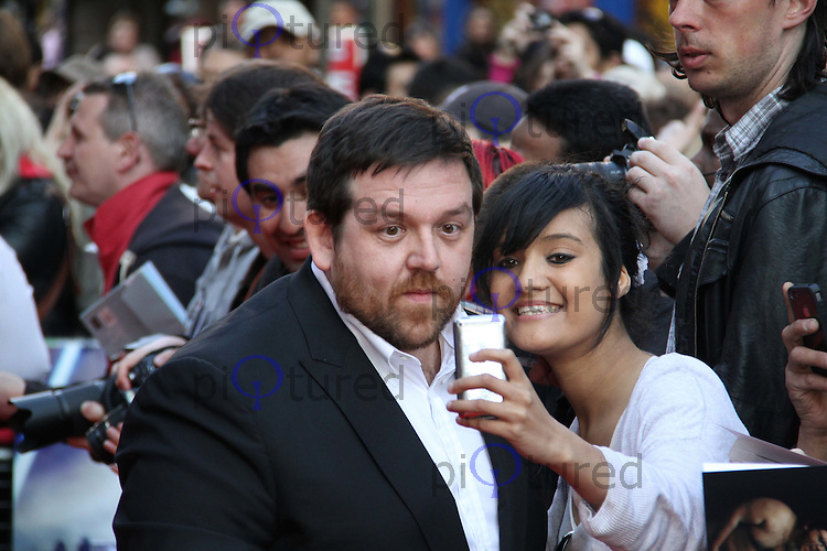 Nick Frost Attack The Block UK Premiere, Vue Cinema, Leicester Square, London, UK, 04 May 2011:  Contact: Rich@Piqtured.com +44(0)7941 079620 (Picture by Richard Goldschmidt)
